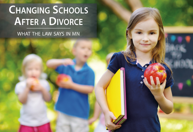 Changing a Childs School After Divorce | Martin & Wagner Law