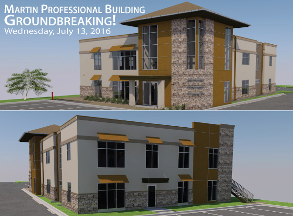 New Professional Building - Groundbreaking July 13th Rogers, MN